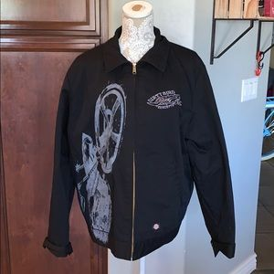 Dickies Dirty Bird Concepts quilted jacket Moto L
